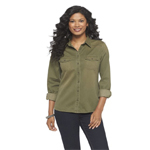 plus size military style