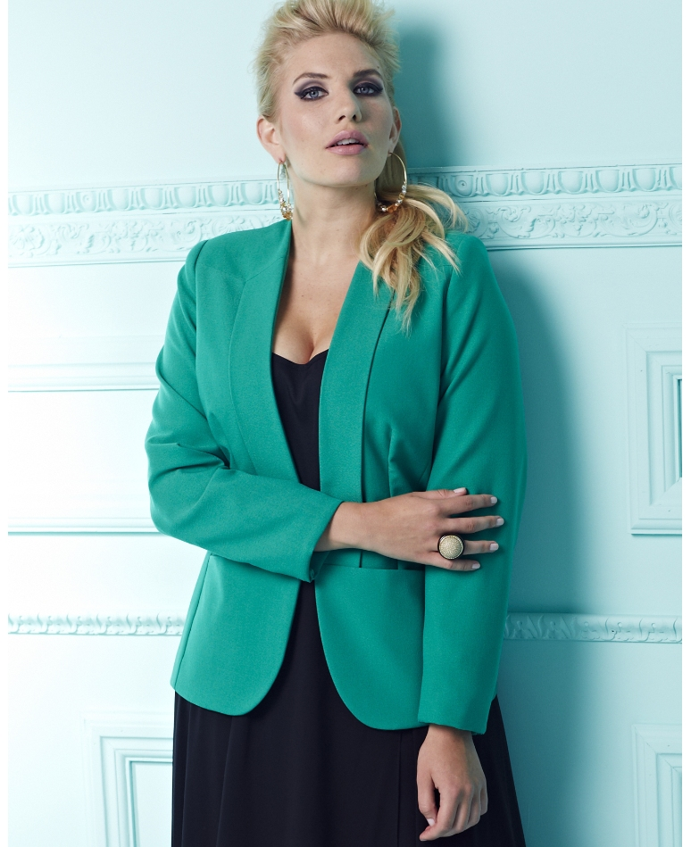 Snag This! SimplyBe Green Blazer - therunway therunway